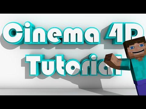 Cinema 4D Tutorial: How to Animate Minecraft - Part 1