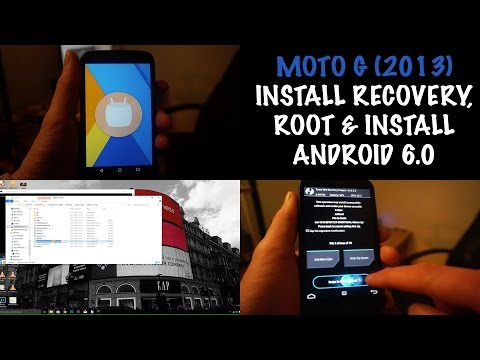 How to Root Moto G 1st Gen (2013) & Install Android 6.0 Marshmallow