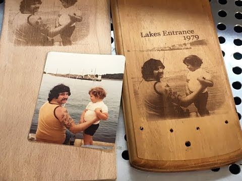 Laser Engraving Techniques for Putting Photos onto Wood
