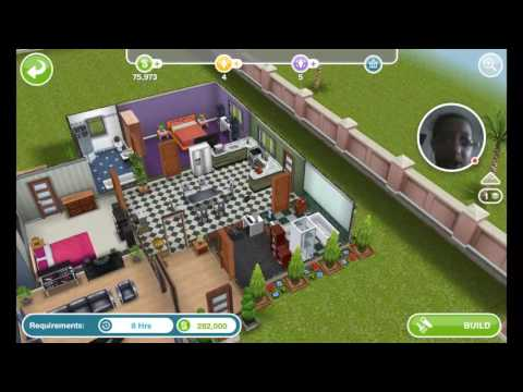 Me playing the Sims Freeplay & angry birds pop