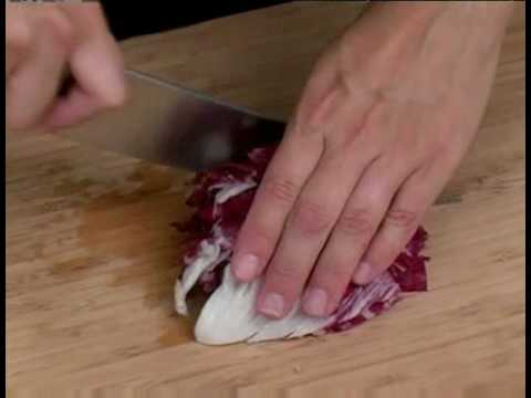 Cooking Tips : How to Chop Radicchio
