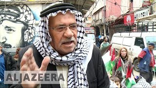 Palestinian refugees angry at Trump