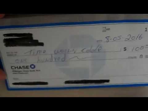 Como hacer un cheque para pagar a persona o compañia