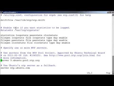 Ubuntu 12 04 Server Installing NTP