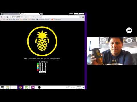 Account Password Phishing Using SSLStrip with Pineapple Mark V
