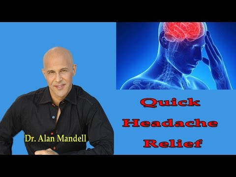 Quick Headache Relief (Neck Pain & Pinched Nerve) - Dr Mandell
