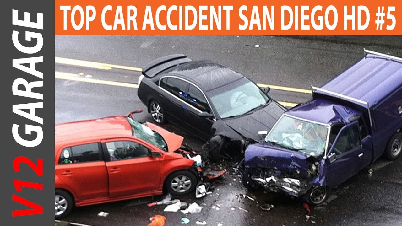 TOP CAR ACCIDENT SAN DIEGO HD COMPILATION | Car Accident Compilation #5