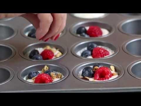 Frozen Berry Yogurt Bites