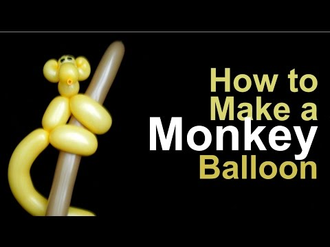 How to Make a Monkey Balloon Animal