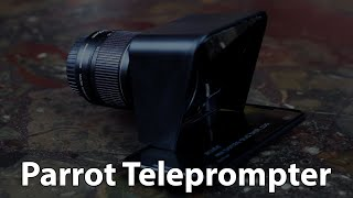Parrot Teleprompter | New Glass Upgrade Videos & Books