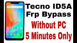 techno in2 hard reset and pin unlock bypass