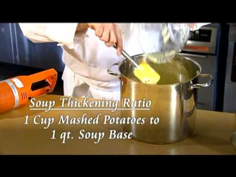 Thicken Soups with Idaho Mashed Potatoes