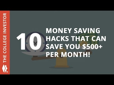 10 Money Saving Hacks That Can Save You $500+ Per Month