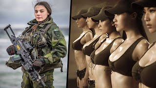 10 Most Beautiful Female Armed Forces In the World
