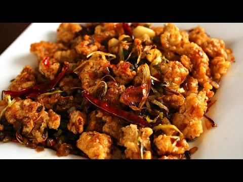 Spicy garlic fried chicken (Kkanpunggi: 깐풍기)
