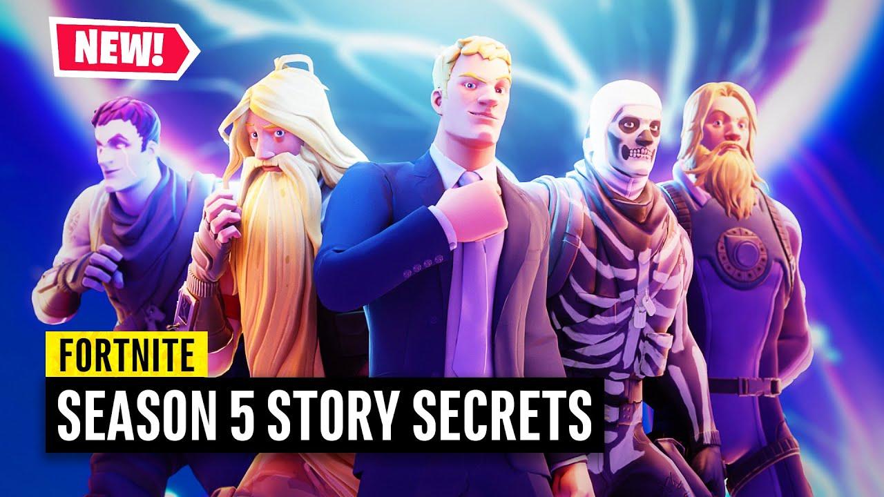 Fortnite | 6 Story Secrets Hidden in Season 5