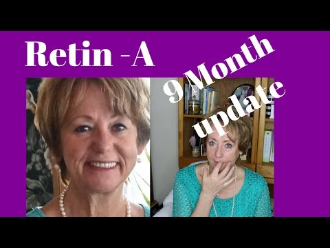 Retin A - Tretinoin 9 Month Update Before and After Pics | #MatureBeauty