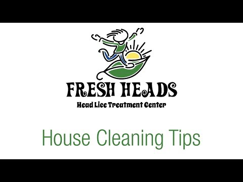 House Cleaning Tips for Head Lice | Fresh Heads Lice Removal