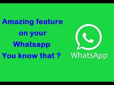 Use of share live location on whatsapp