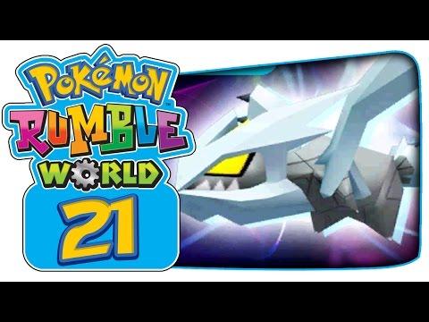 Pokémon Rumble World - Part 21: Plasma Balloon, Giratina & Meloetta Boss Battles!