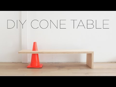 3 Tool Cone Table