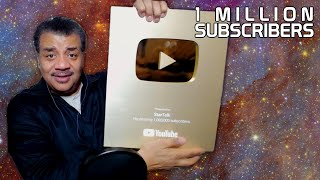 1 Million YouTube Subscribers! LIVE Q&A with Neil deGrasse Tyson & Chuck Nice
