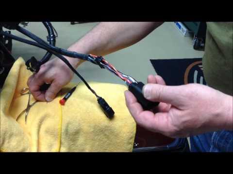 Harley Davidson Ape Hanger Handlebar Internal Wiring   volume 1