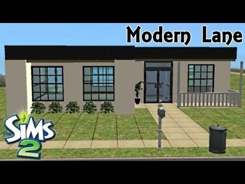 Sims 2 | House Build - Modern Lane