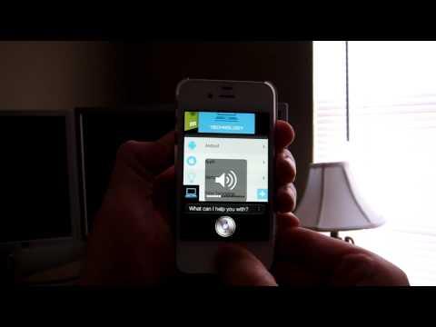 How To Adjust Siri's Volume iPhone 4S.