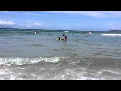 Omaha beach little surfing