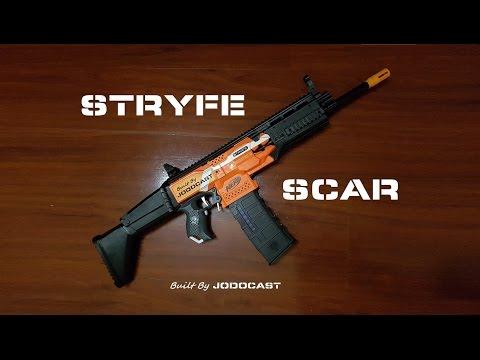 Nerf SCAR mod .. Stryfe / build