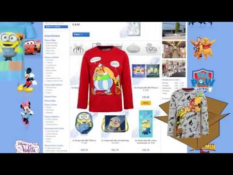 How to order - Disney children's clothing supplier Textiel Trade.