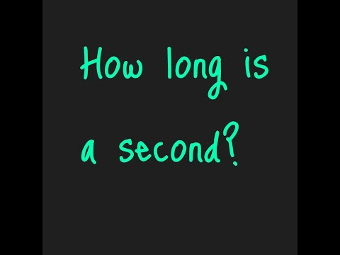 How many milliseconds are there in a second