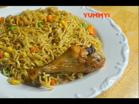 How to make Noodles at home/ Indomie instant noodles