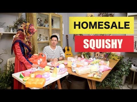 HOMESALE SQUISHY - BIKIN NGAKAK! wajib nonton