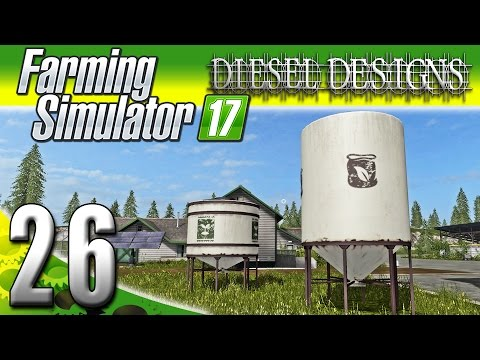 Farming Simulator 2017 Gameplay :EP26: Seed Silos & Side Missions! (PC HD Goldcrest Valley)