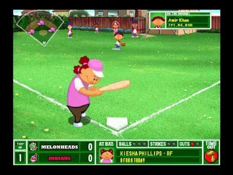 Backyard Baseball 2003: The Test Video