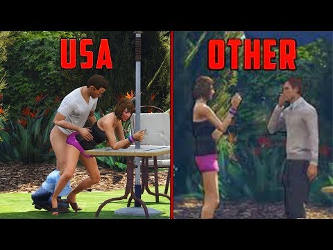 THINGS IN GTA 5 THAT LOOK DIFFERENT IN OTHER COUNTRIES!