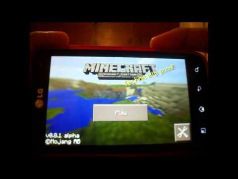 Minecraft Pocket Edition 0.8.1 | Android | 2014