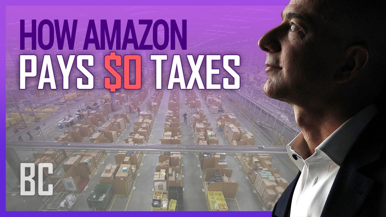How Amazon Pays $0.00 In Taxes (Yes, Legally)