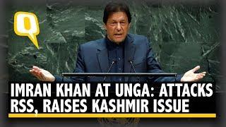 'Inhuman Curfew': Kashmir the Focus of Imran Khan's UNGA Speech | The Quint