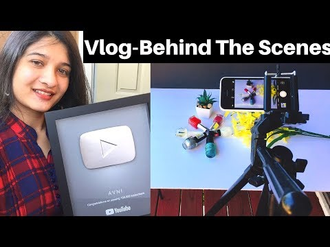 Vlog# 7 - How I make my YouTube videos in Hindi | Behind the scenes | YouTube Silver button | AVNI