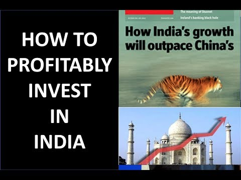 3 Ways to Invest in India - Indian Stocks, ETF, ADRs Analyzed