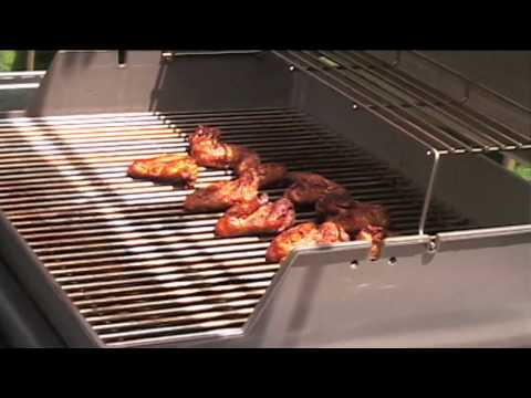 BBQ Grilled Hot Wings!