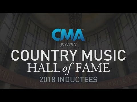 CMA Presents the 2018 Country Music Hall of Fame Inductees Announcement Ceremony