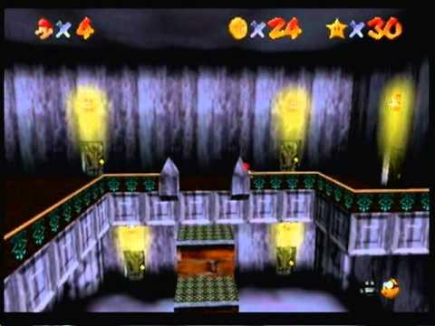(006) Super Mario 64 100% Walkthrough - Fear Factor