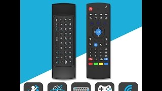 MX3 2.4GHz Wireless keyboard Fly Air Mouse Remote For MXQ Android Smart TV BOX