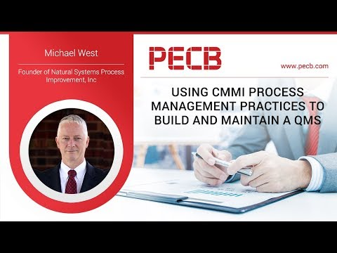 Using CMMI Process Management Practices to Build and Maintain a QMS