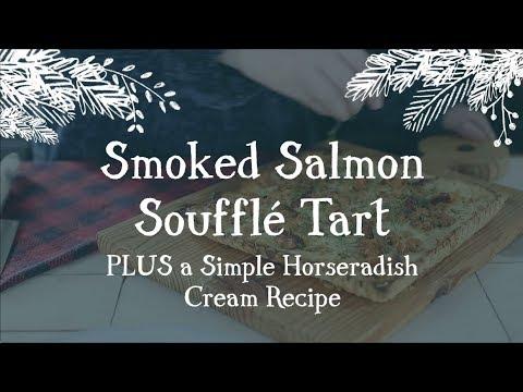 Smoked Salmon Soufflé Tart