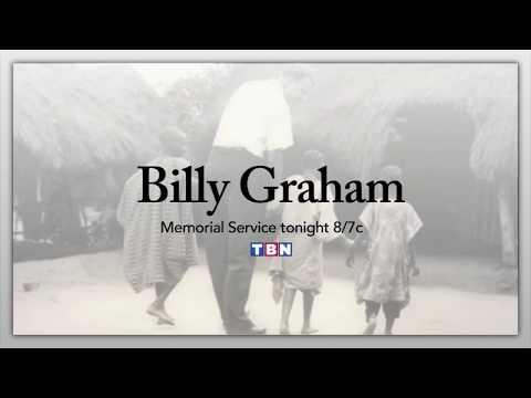 Billy Graham Memorial Service   TONIGHT on TBN